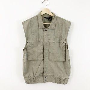 Organically Grown 90's Vintage Gardening Vest, M